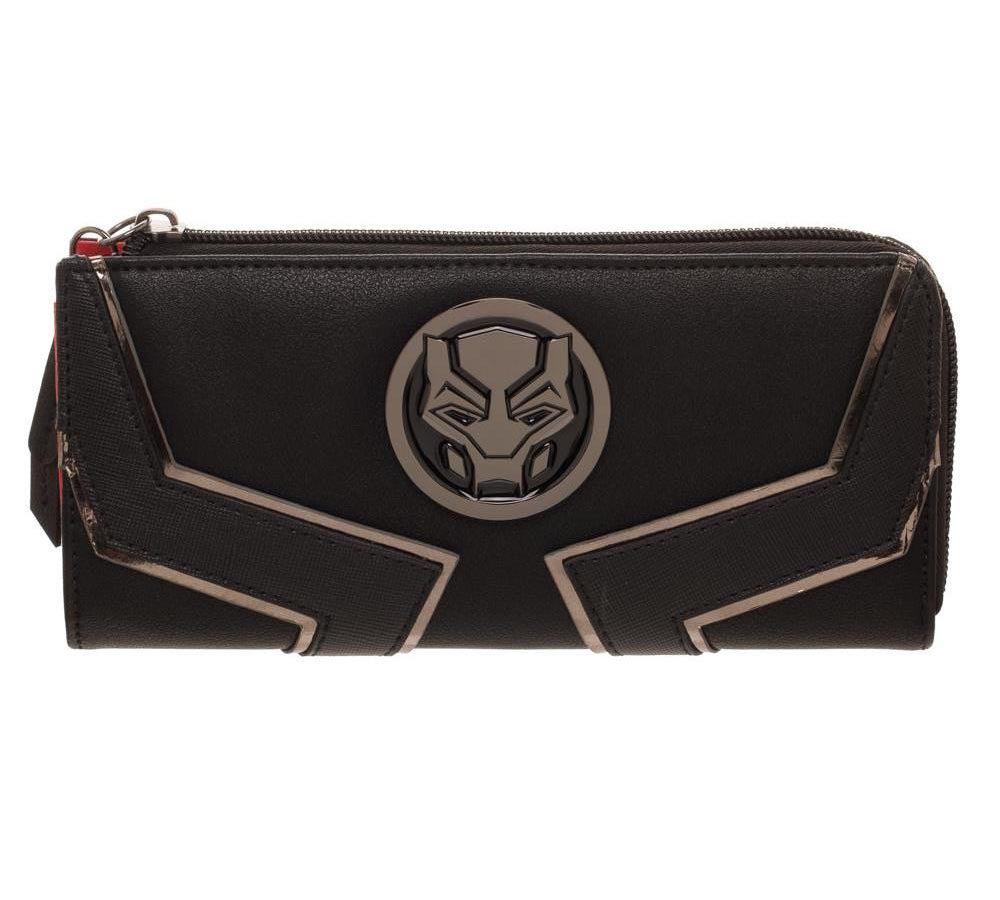 Black Panther Womens Zip Around Purse
