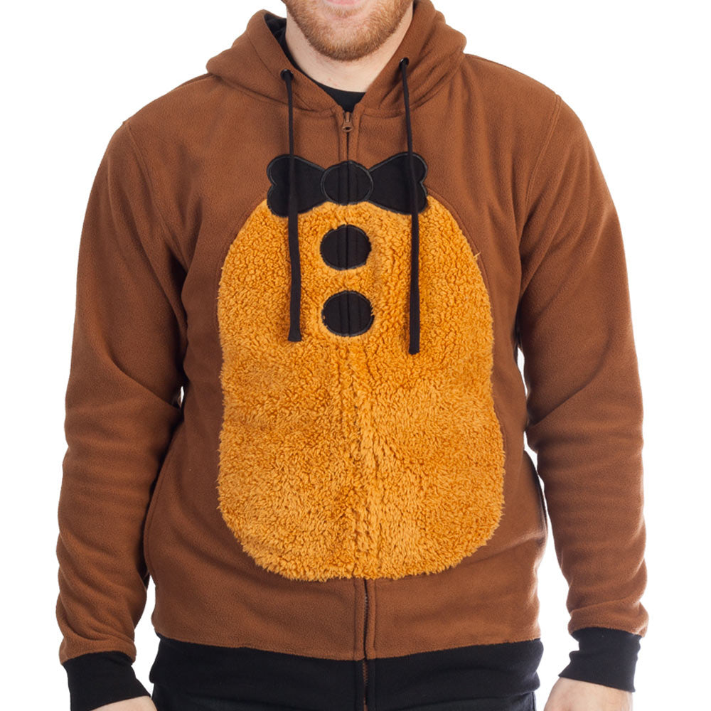 Five Nights at Freddy's Mens Freddy Fazbear Costume Hoodie