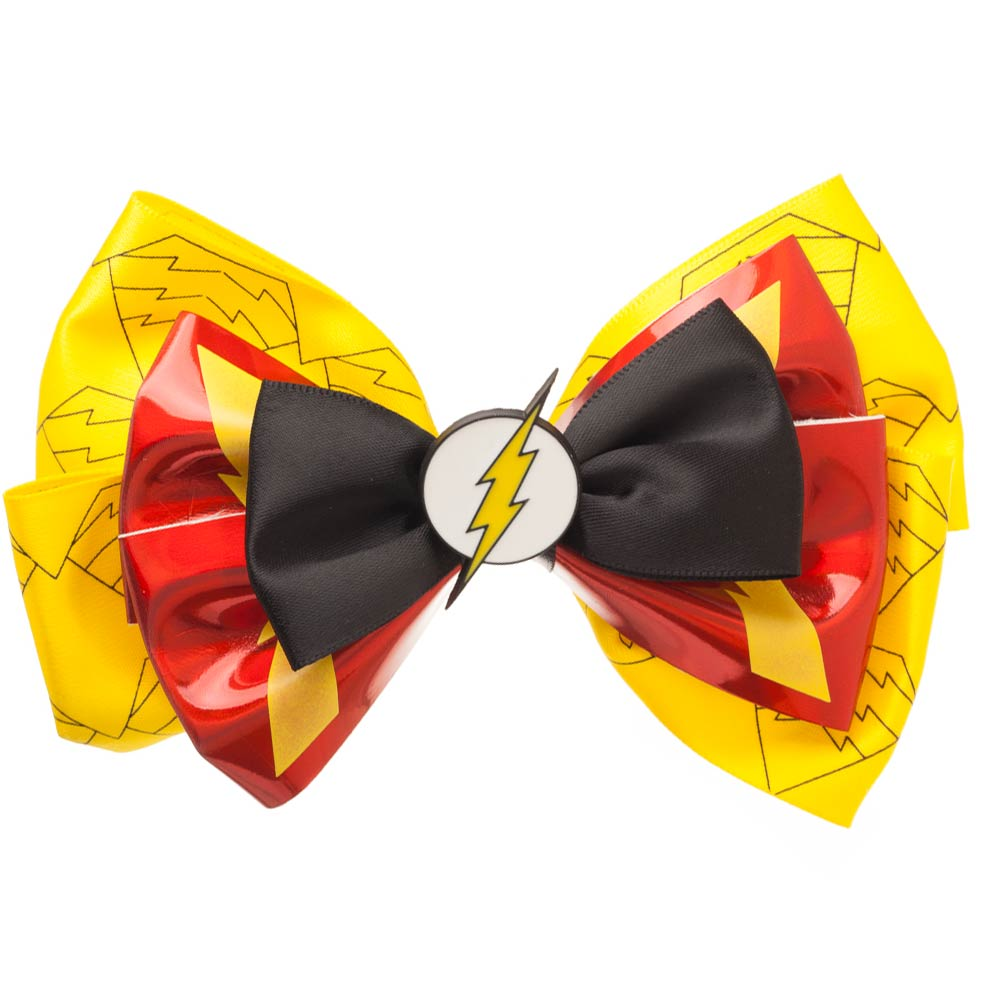 The Flash Suit Up Cosplay Bow