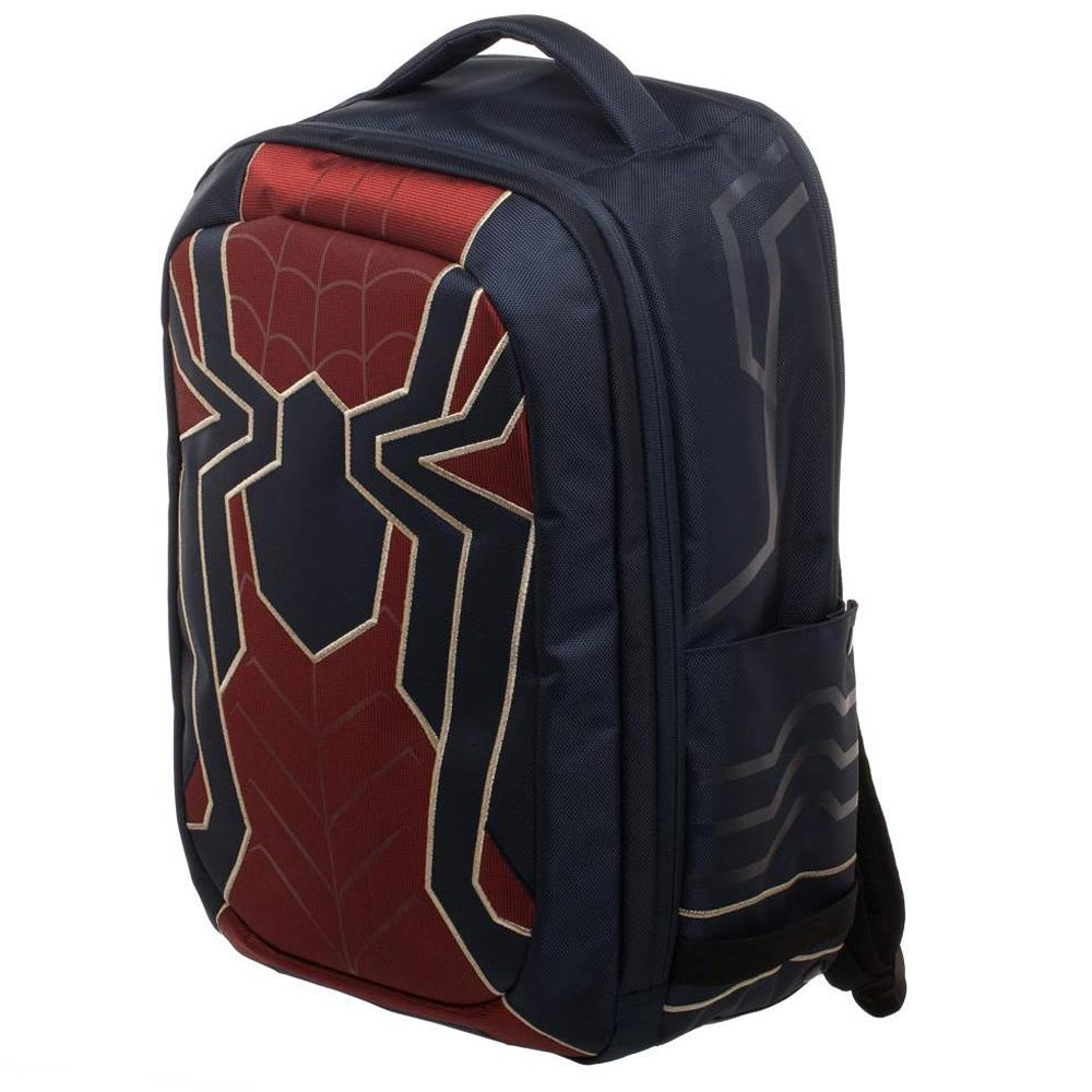 Spider-Man Iron Spider Avengers Premium Built Up Laptop Backpack