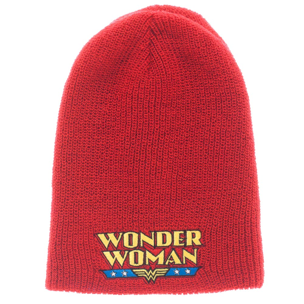Wonder Woman Reversible Logo Beanie