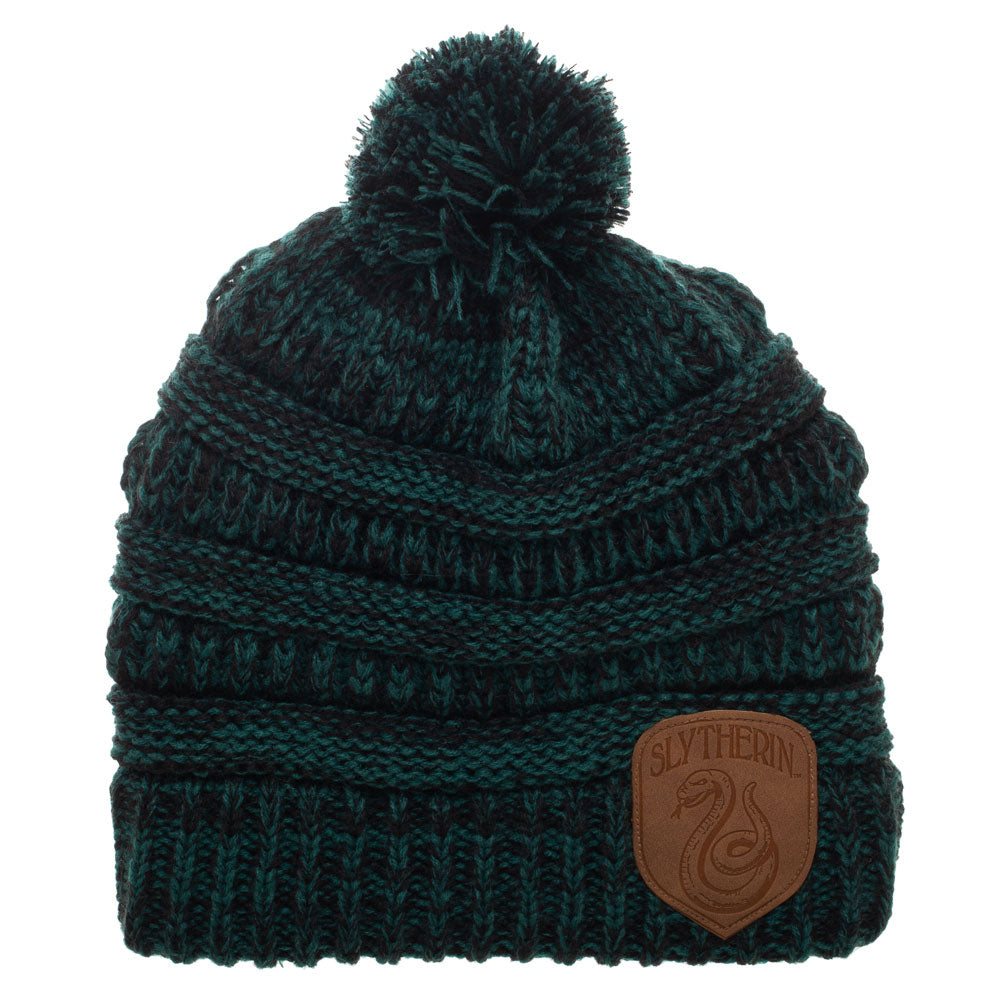 Harry Potter Slytherin Knitted Pom Beanie