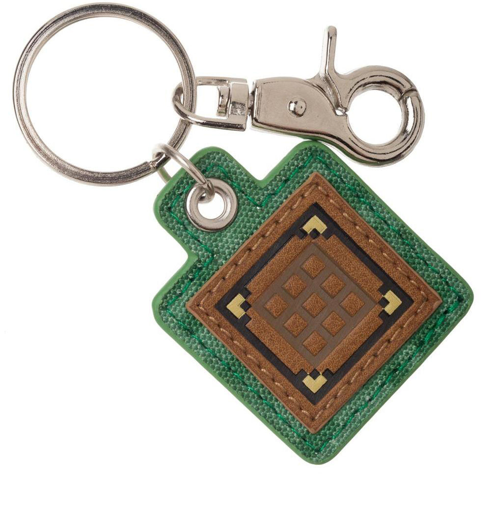 Minecraft Crafting Table Keyring