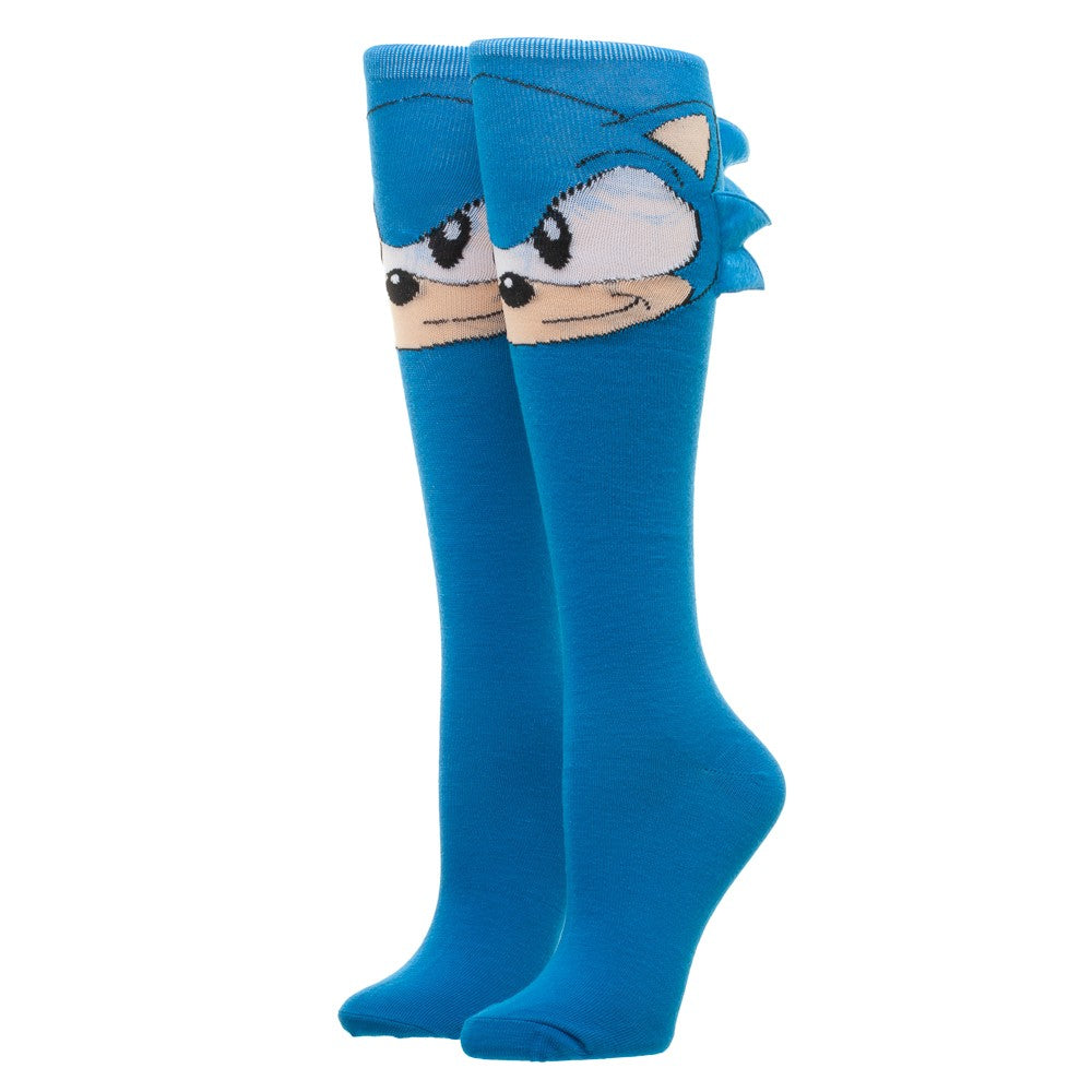 Sega Sonic Novelty Knee-hIgh Socks