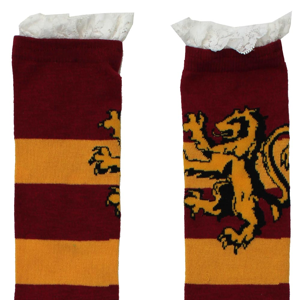 Harry Potter Hogwarts Lace Deco Knee High Socks