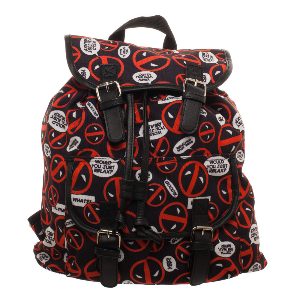 Deadpool Ladies Logo Knapsack