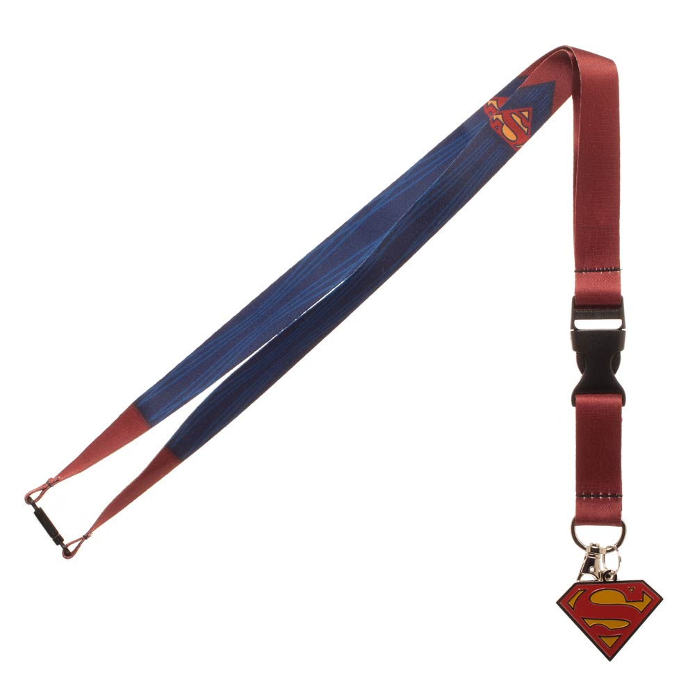 Superman Suit Up Lanyard