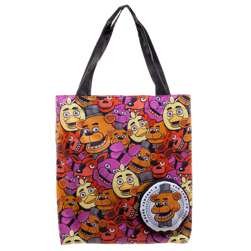 Five Nights At Freddy's Packable Tote Bag