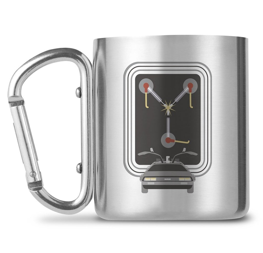 Back To The Future Flux Carabiner Mug