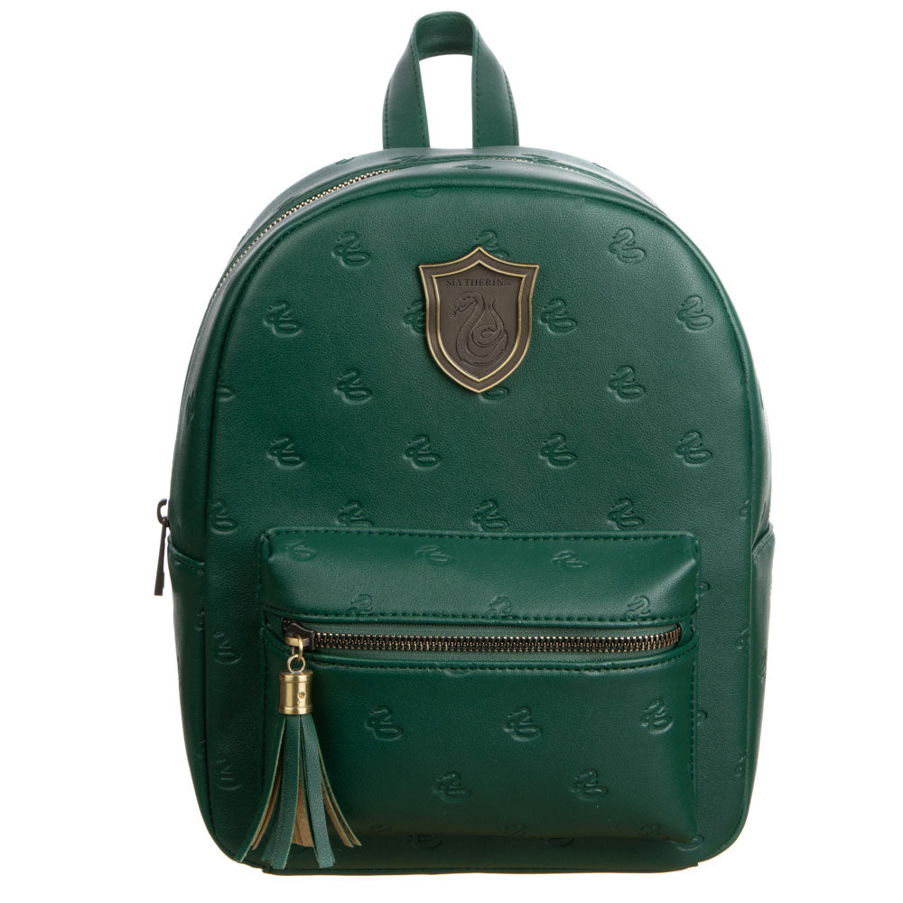 Harry Potter Slytherin PU Mini Backpack