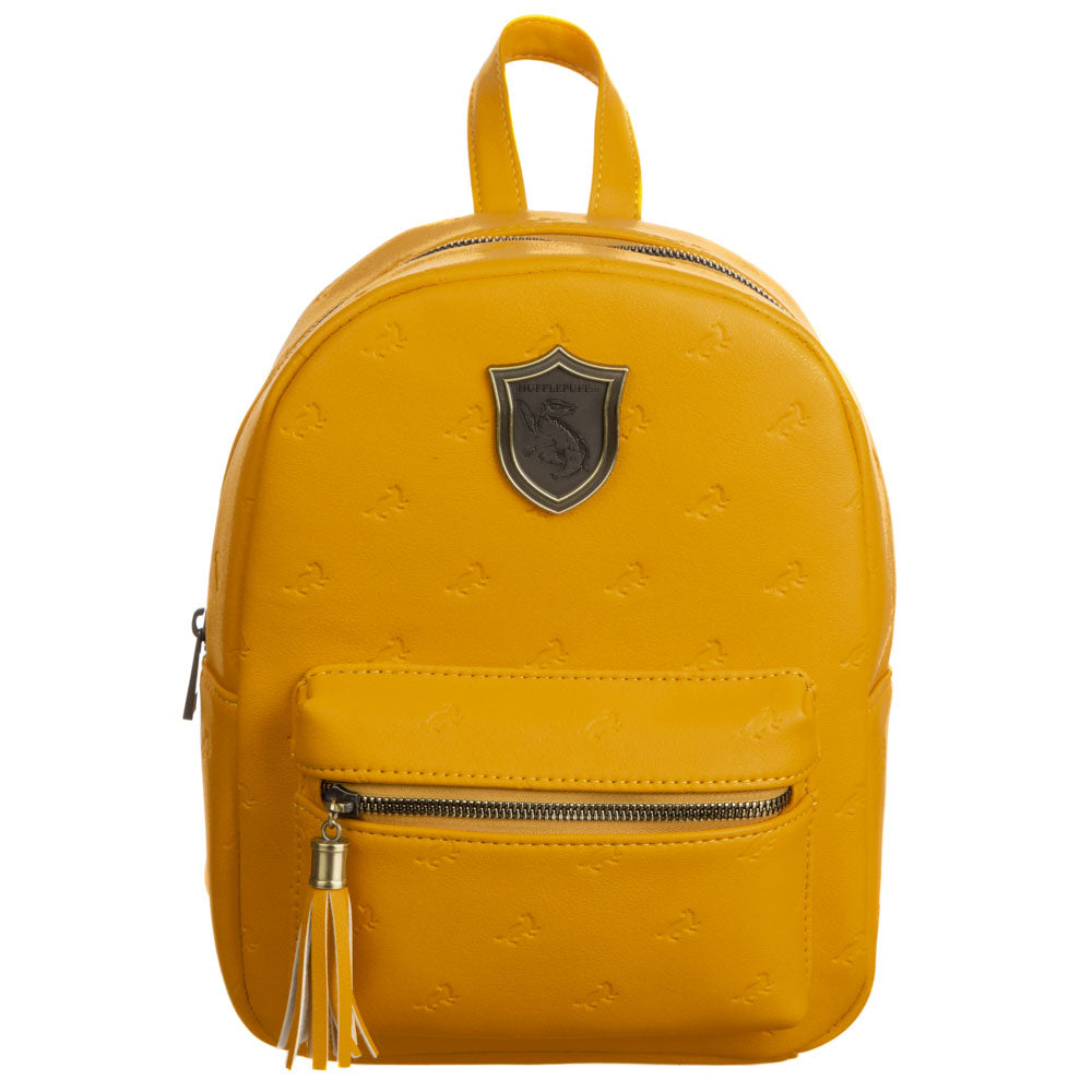 Harry Potter Hufflepuff PU Mini Backpack