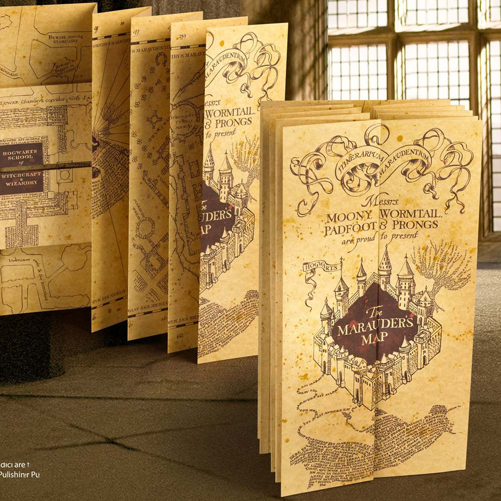 Marauder's Map Expanding Replica