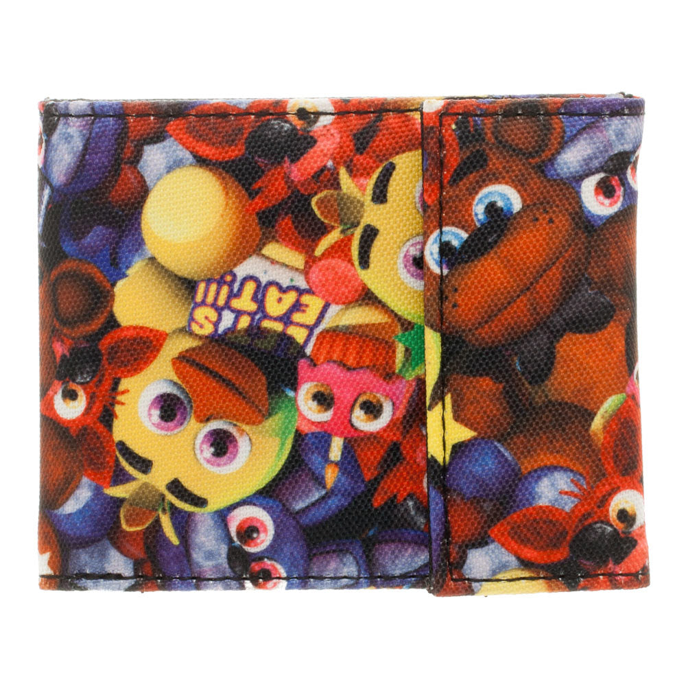 Five Nights At Freddy's BiFold Velcro Wallet