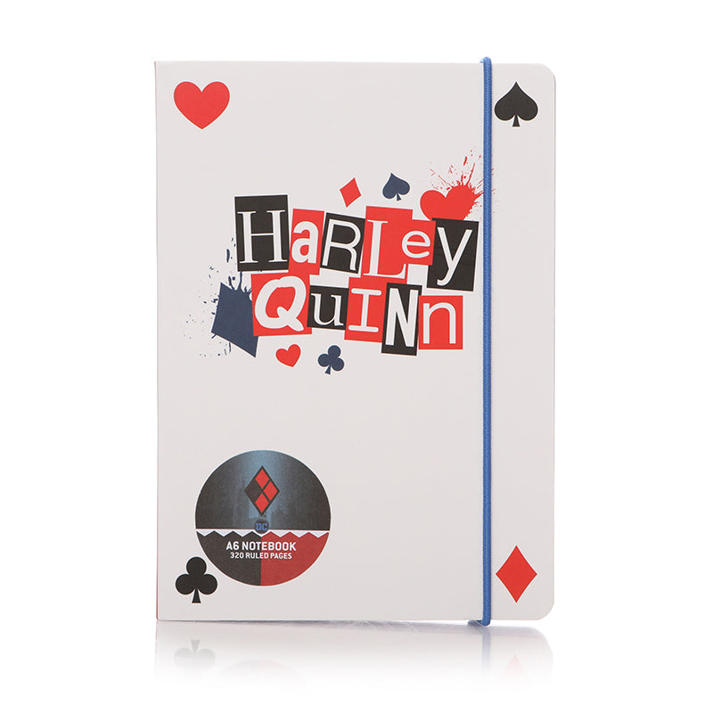 Harley Quinn Notebook Small A6