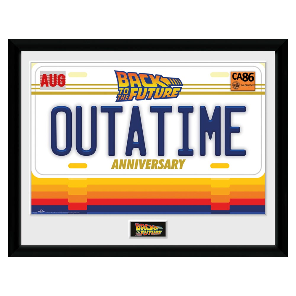 Back To The Future 35th Outatime Collector Print