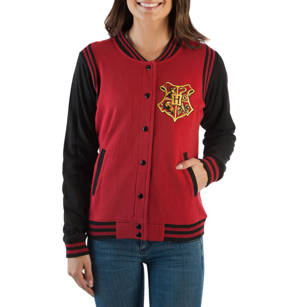 Harry Potter Gryffindor Quidditch 07 Varsity Womens Jacket