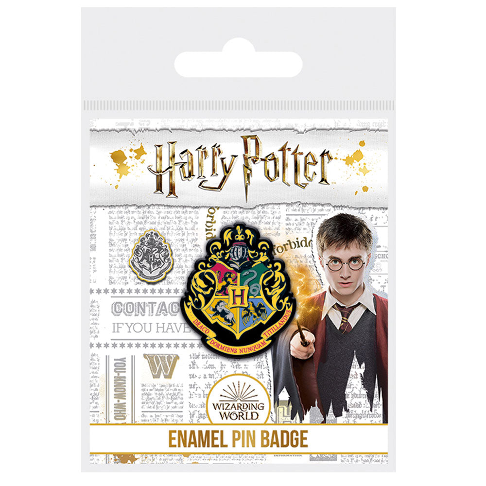 Harry Potter Hogwarts Enamel Pin Badge