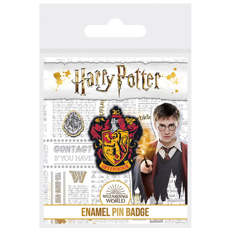 Harry Potter Gryffindor Enamel Pin Badge