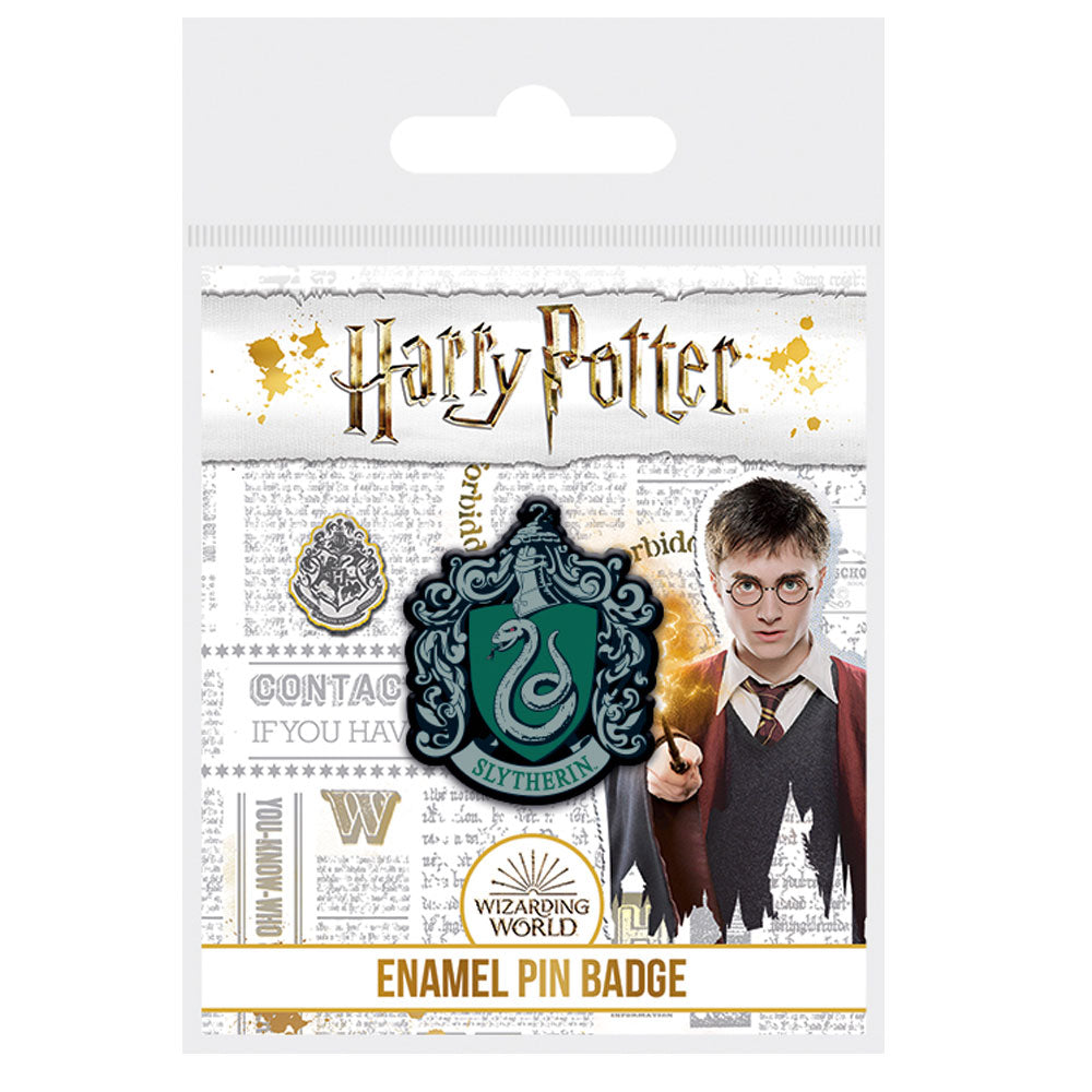 Harry Potter Slytherin Enamel Pin Badge