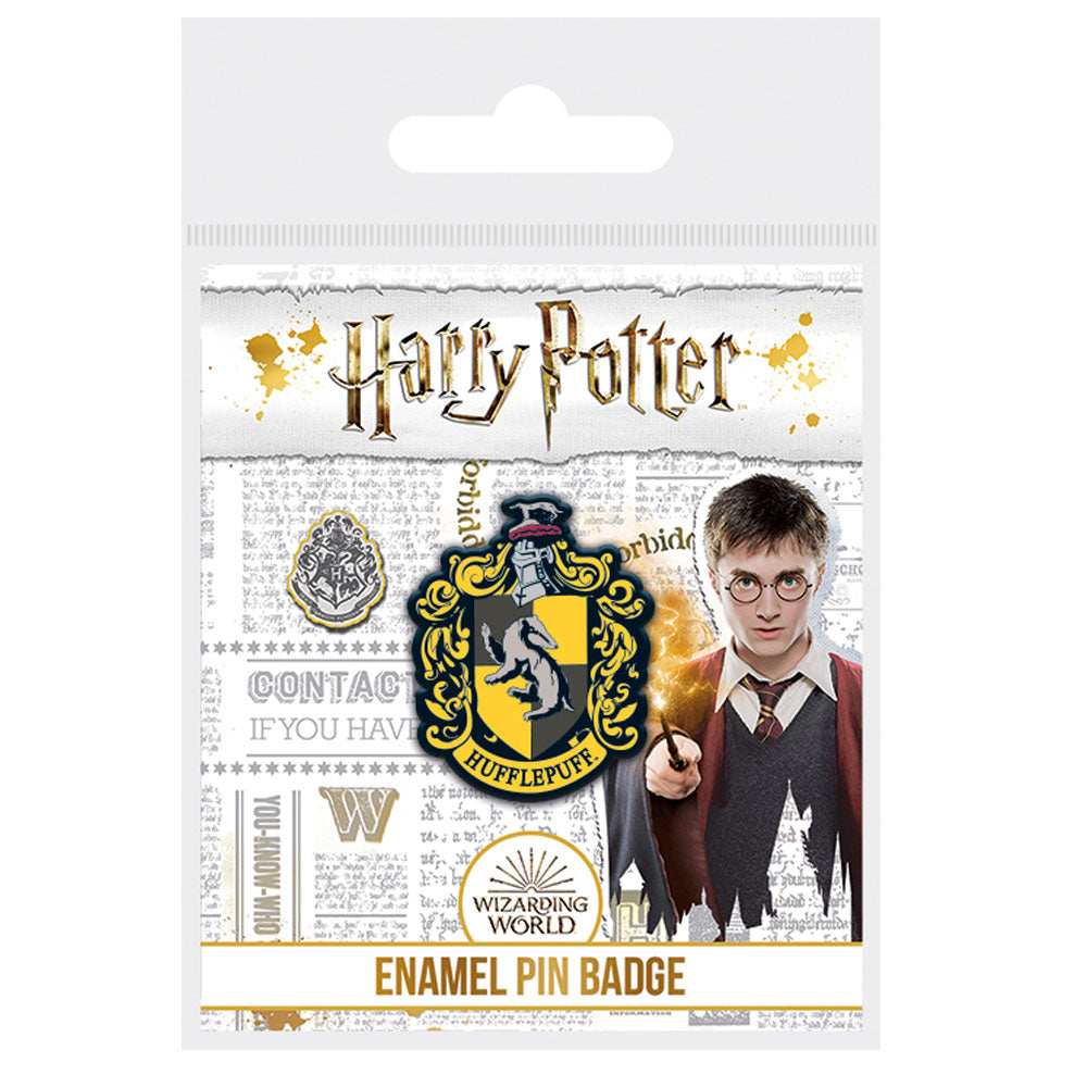 Harry Potter Hufflepuff Enamel Pin Badge