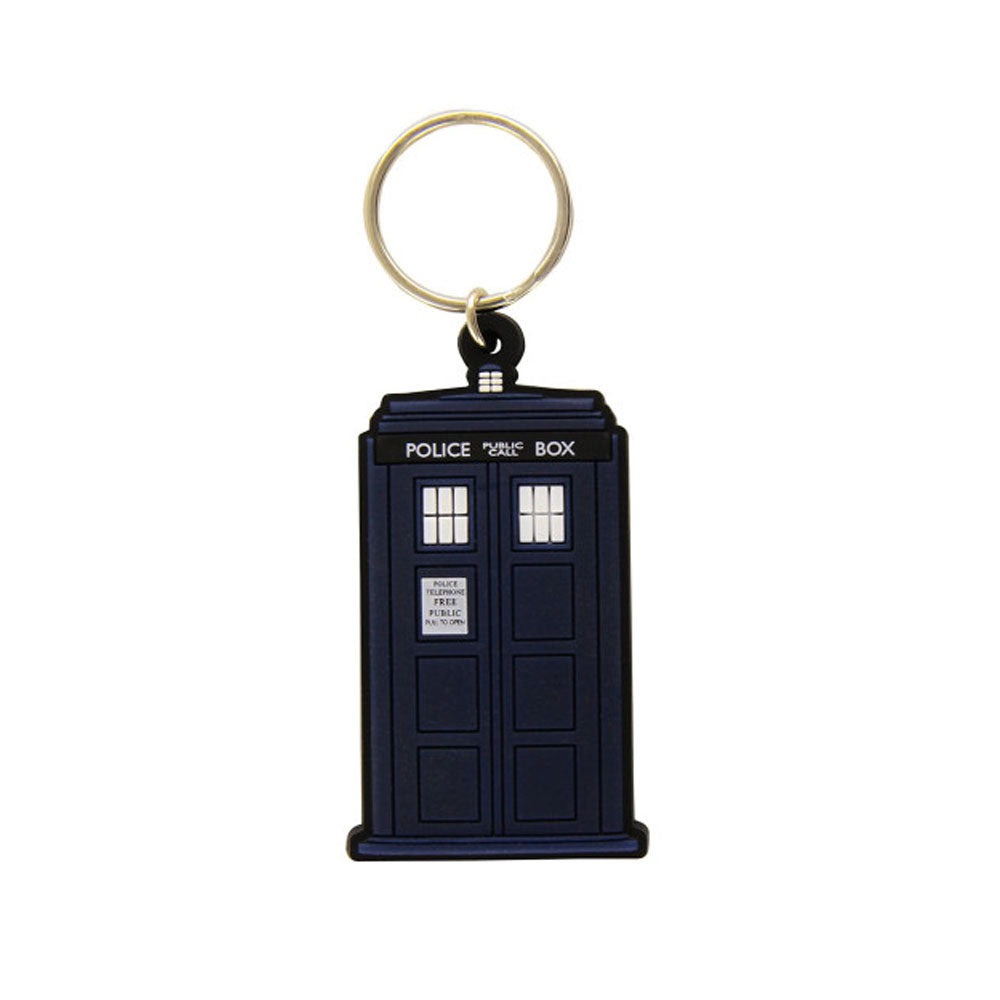 Doctor Who Tardis Rubber Keyring