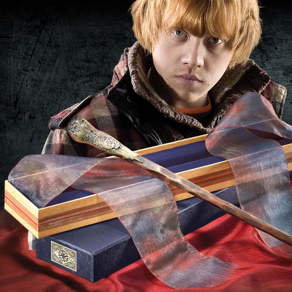 Harry Potter Ron Weasley Wand in Ollivanders Box
