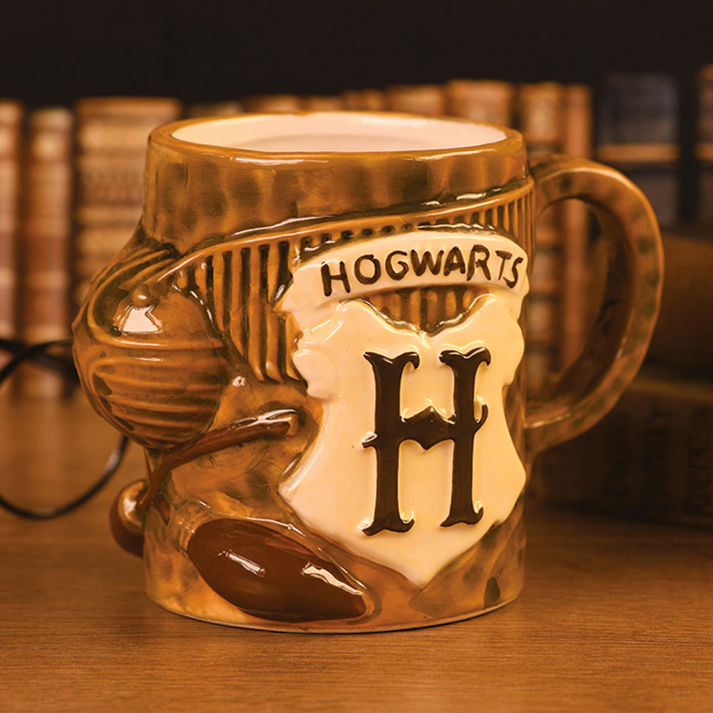 Harry Potter Quidditch 3D Sculpted Mug