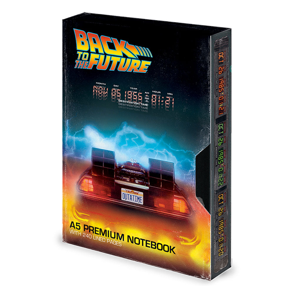 Back to the Future Great Scott VHS Premium A5 Notebook