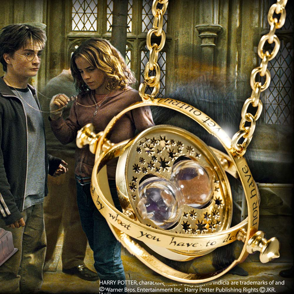 Harry Potter Hermione's Time Turner 24K Plated & Display Box