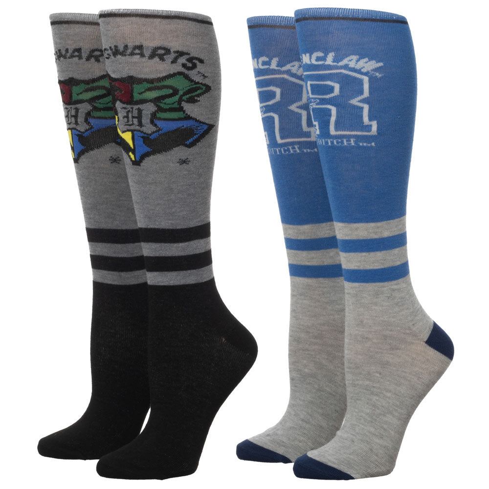 Harry Potter Ravenclaw Knee High Socks 2 Pair Pack