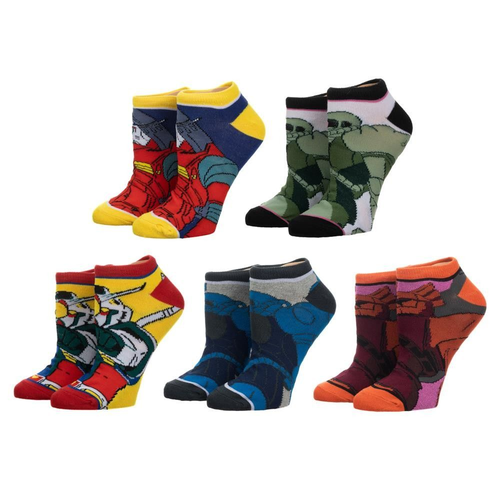 Gundam Ankle Sock 5 Pack
