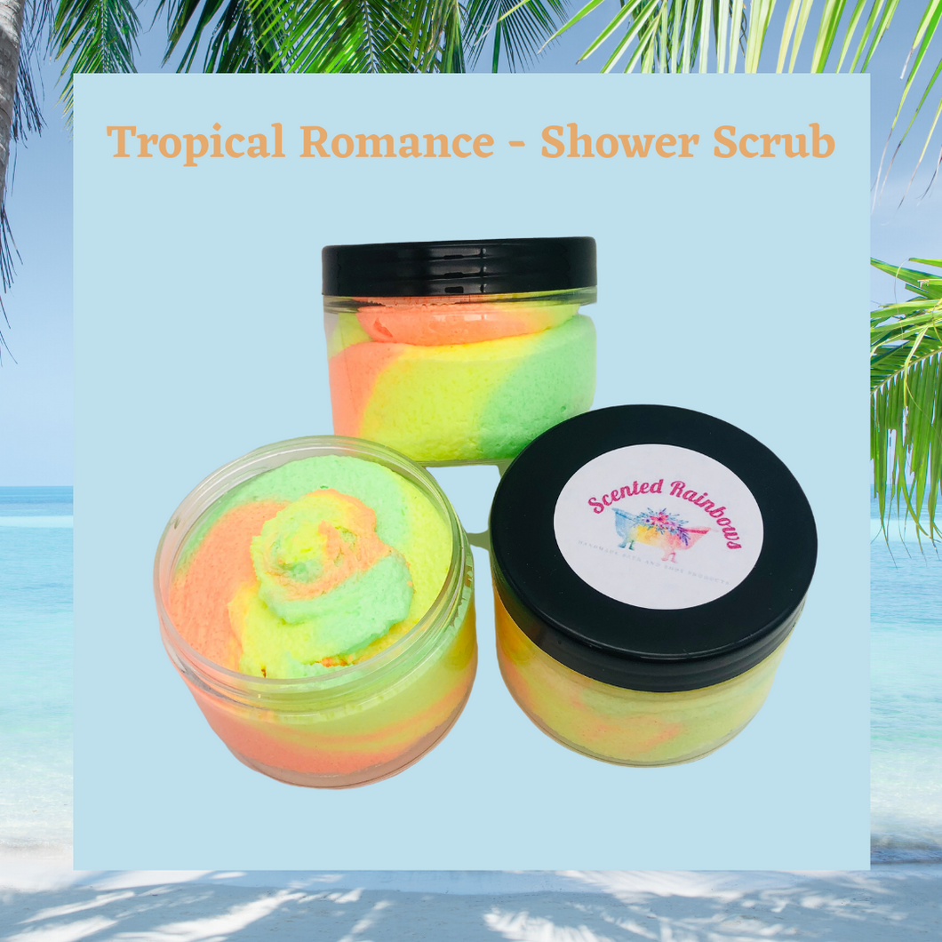 Tropical Romance Fluffy Shower Scrub