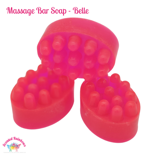 Belle Massage Soap Bar