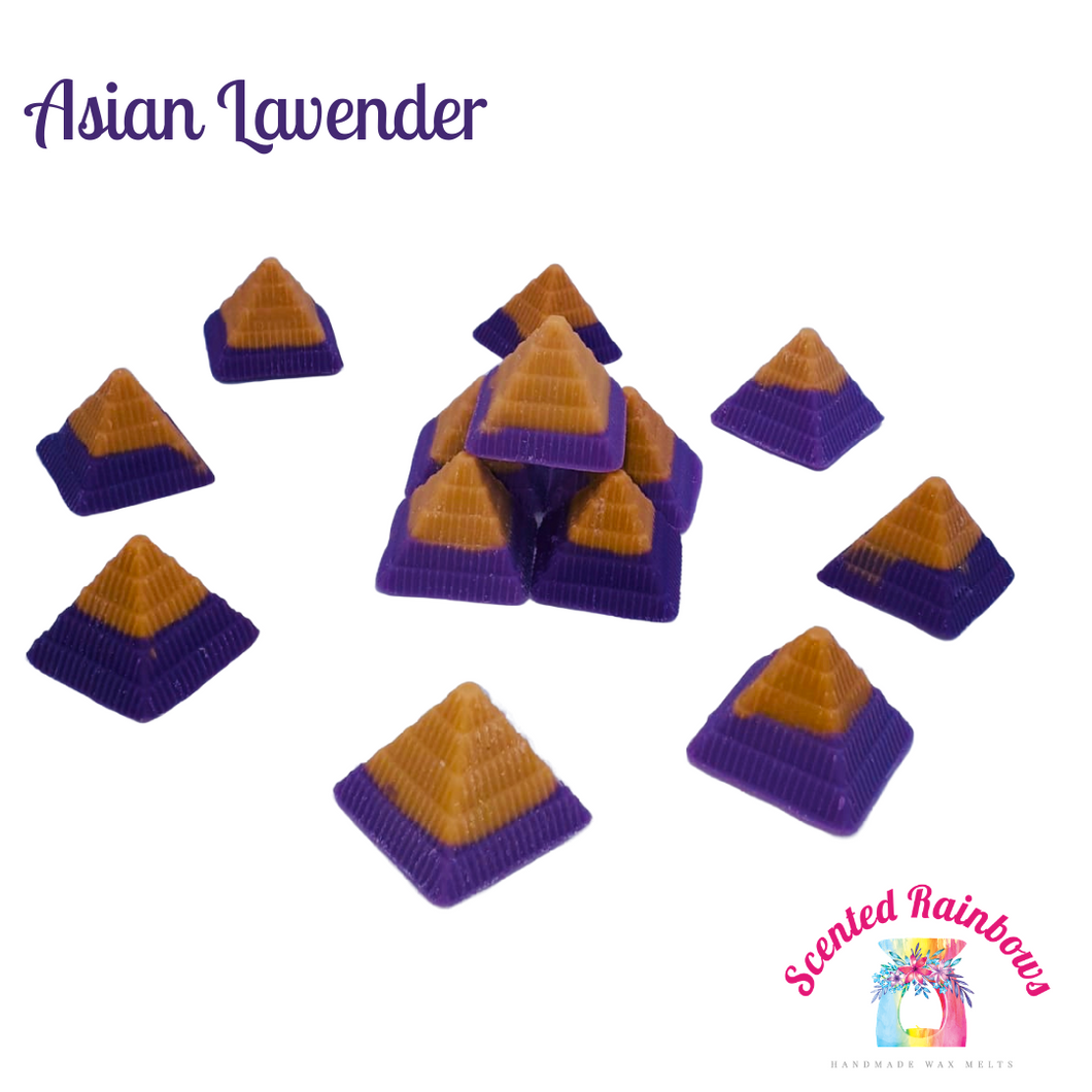 Asian Lavender Pyramids