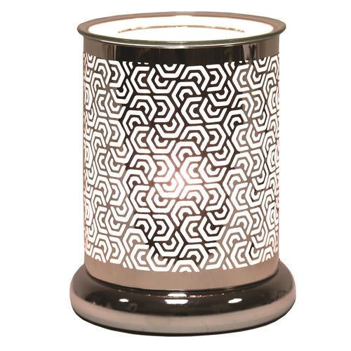 Silver Lux Geo Electric Warmer
