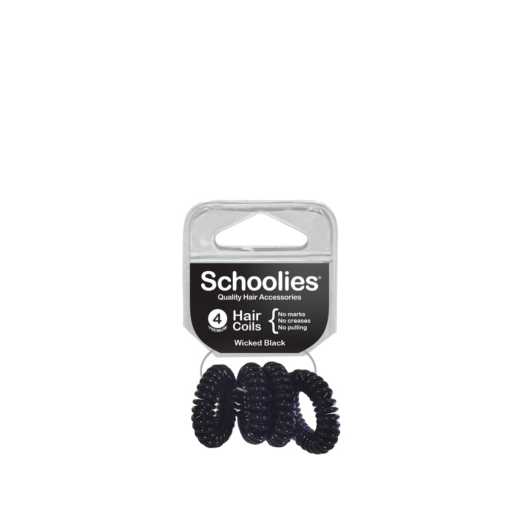 Schoolies Hair Coils - Wicked Black