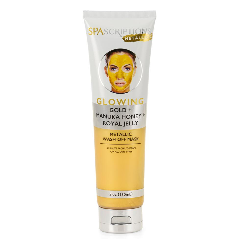 Spascriptions Glowing metallic wash off mask
