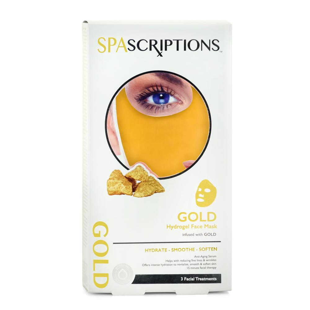 Spascriptions Hydrogel mask gold