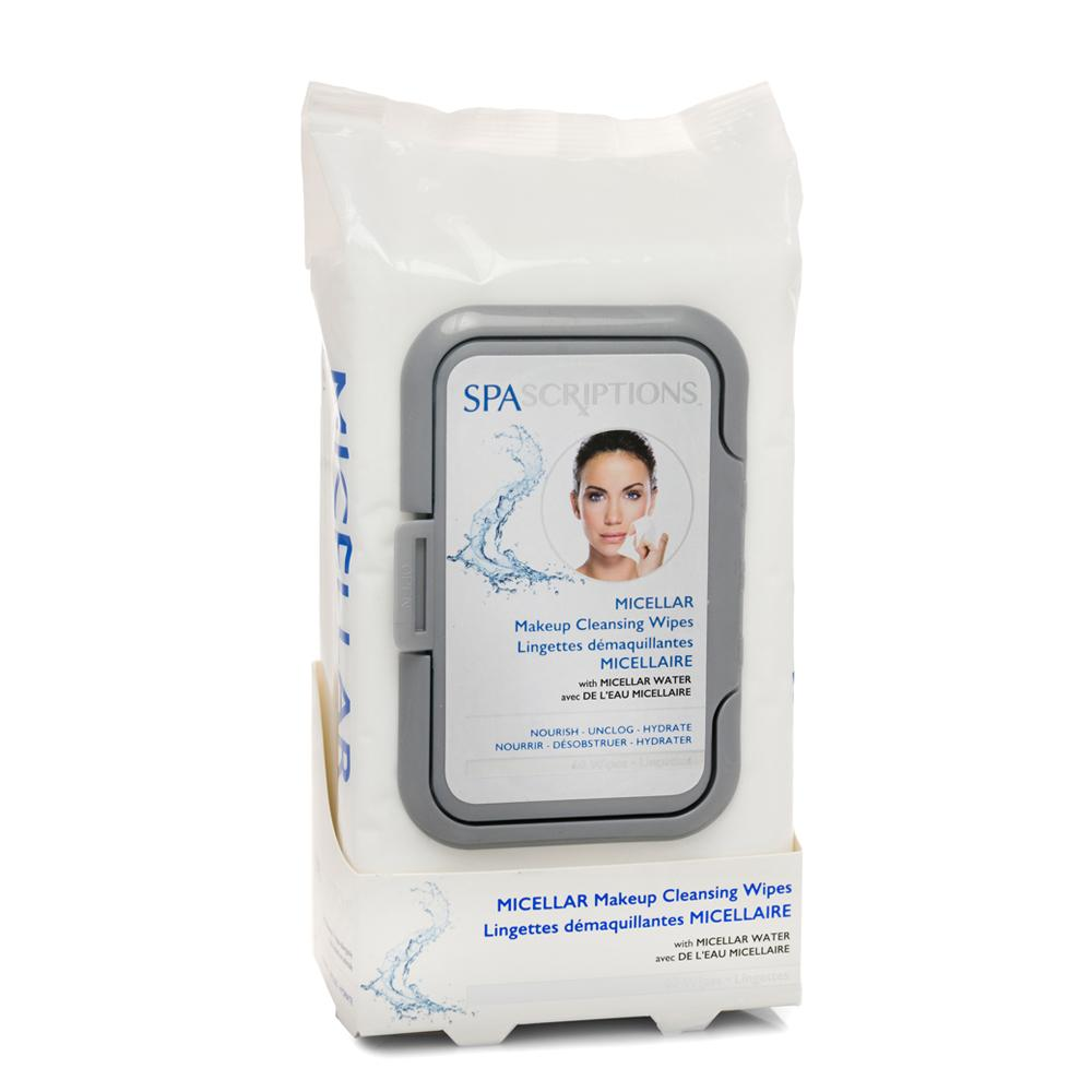 Spascriptions Micellar makeup cleansing wipes