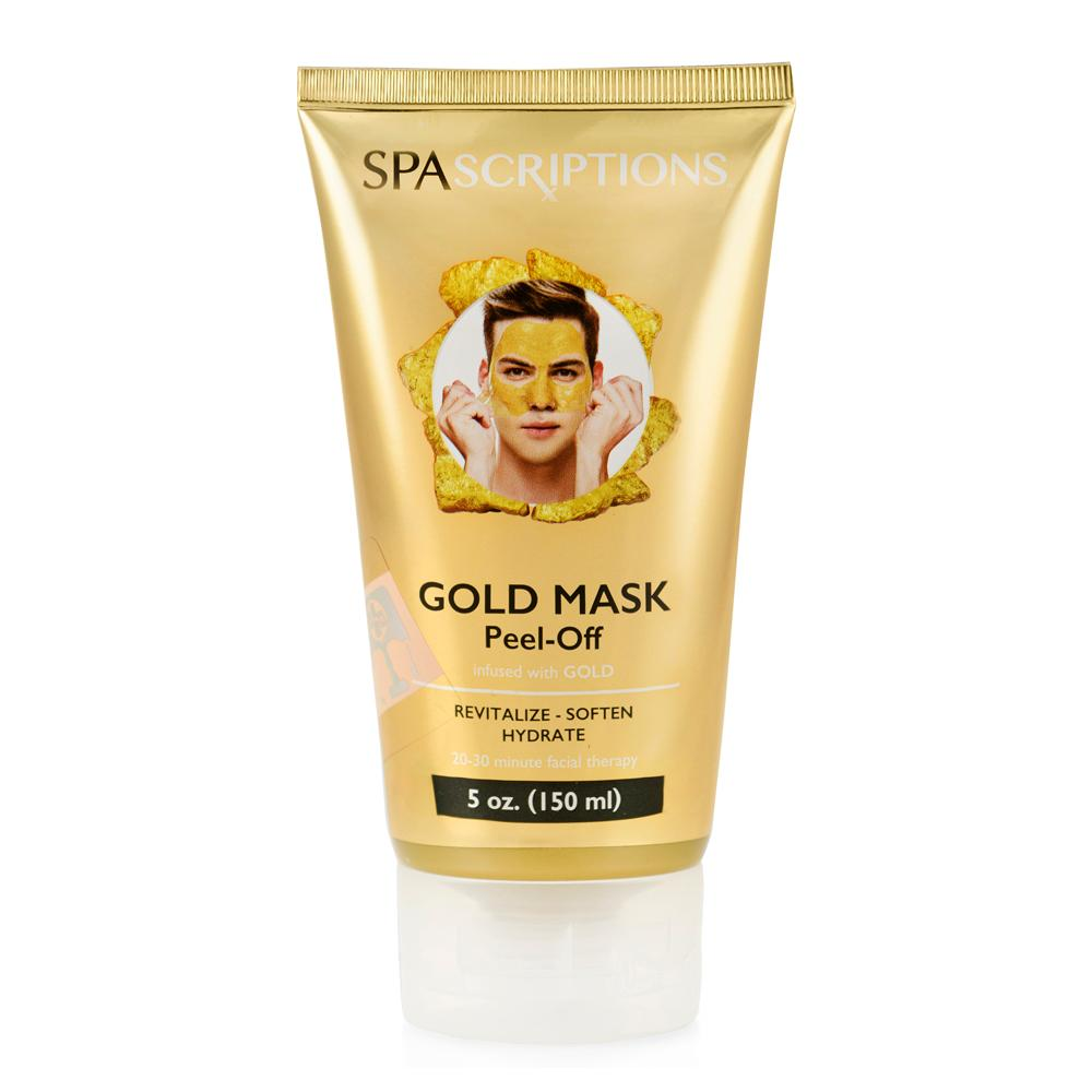 Spascriptions peel off gold mask