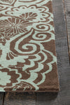 "ASCHERA Hand Tufted ASC-6400 Rectangular 7'9"" x 10'6"" Area Rug WL-0241-CR"