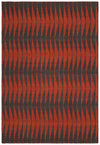 "WINNIE Flatweave WIN-45504 Rectangular 7'9"" x 10'6"" Area Rug WL-2619-CR"