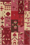 "FUSION Hand Knotted FUS-26300 Rectangular 5' x 7'6"" Area Rug WL-0862-CR"