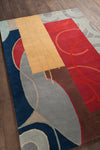 "BENSE Hand Tufted BEN-3015 Rectangular 5' x 7'6"" Area Rug WL-0421-CR"