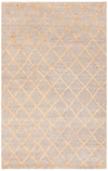 "AARUSHI Hand Knotted AAR-44001 Rectangular 5' x 7'6"" Area Rug WL-0003-CR"