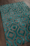 "FRAN Hand Tufted FRA-42101 Rectangular 7'9"" x 10'6"" Area Rug WL-0857-CR"