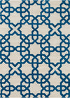 DAVIN Hand Tufted DAV-25803 Rectangular 5' x 7' Area Rug WL-0627-CR