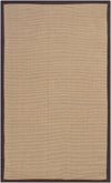 BAY Hand Woven BAY-Brown Rectangular 8' x 10' Area Rug WL-0346-CR