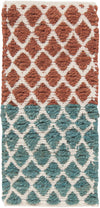 "COSTA Hand Woven COS-39102 Rectangular 5' x 7'6"" Area Rug WL-0571-CR"