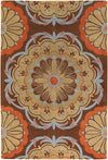 "DHARMA Hand Tufted DHA-7536 Rectangular 5' x 7'6"" Area Rug WL-0685-CR"